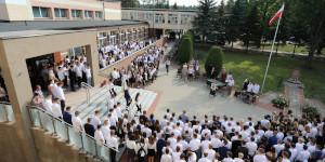 Rozpoczęcie roku w powiatowych szkołach