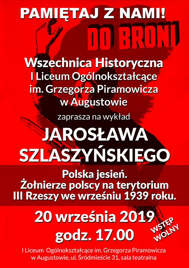 Zaproszenie na wszechnicę historyczną