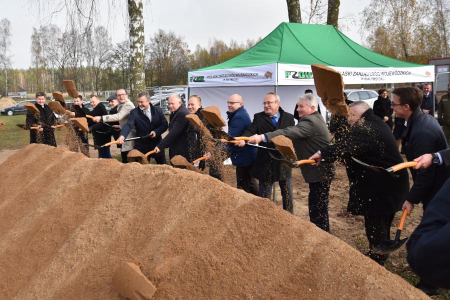 Rozpoczęcie przebudowy drogi Lipsk – Granica Państwa