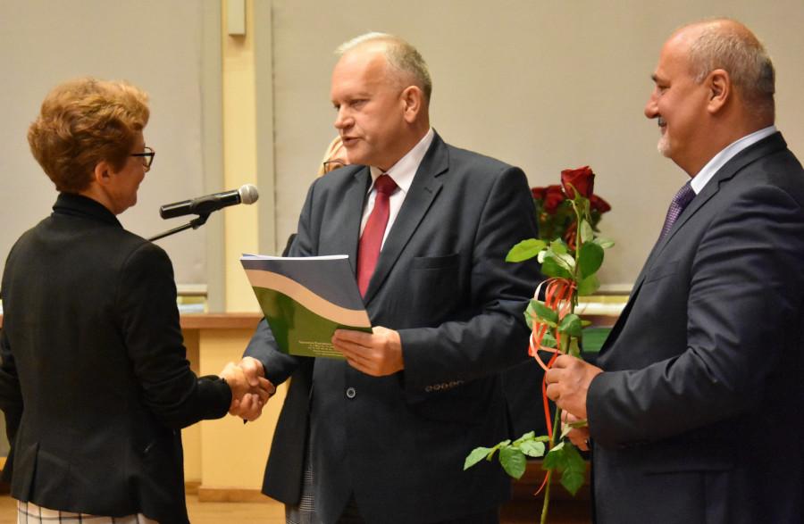 Wręczenie nagród Starosty Augustowskiego