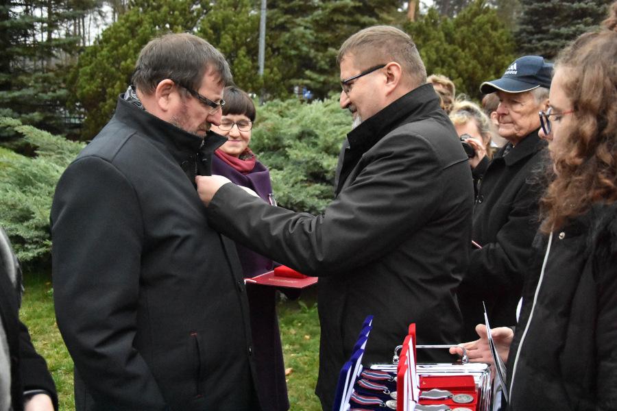 Wręczenie odznaczeń podczas obchodów Święta Sybiraków