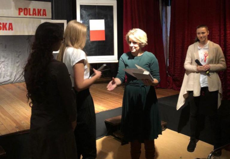 VIII Edycja Powiatowego Konkursu Tożsamość Polaka w Zespole Szkół Ogólnokształcących w Augustowie