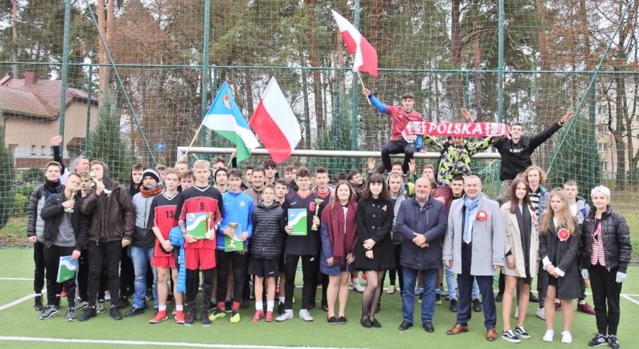 X Turniej Piłki Nożnej z okazji Święta Niepodległości (Fot. ACE)