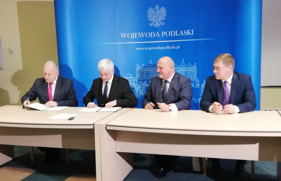 Podpisanie umowy o dofinansowanie inwestycji w SP ZOZ.