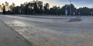 Nowy parking przy SP ZOZ