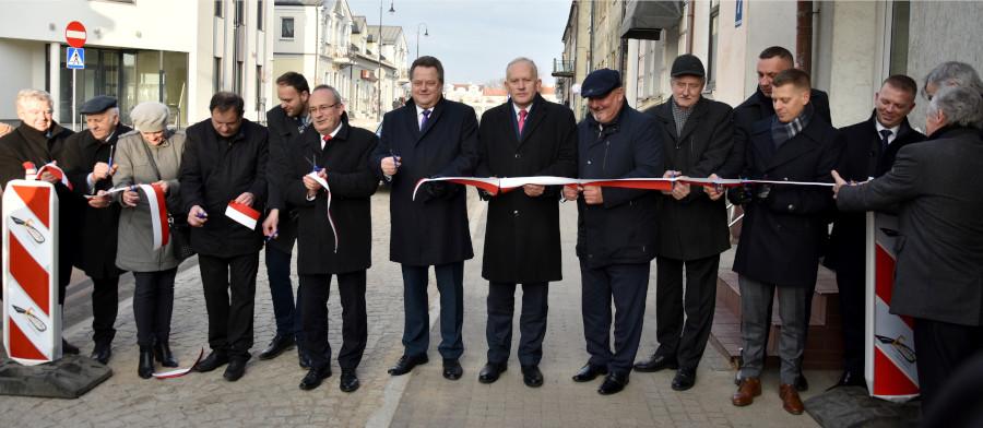 Symboliczne otwarcie ul. Wojska Polskiego