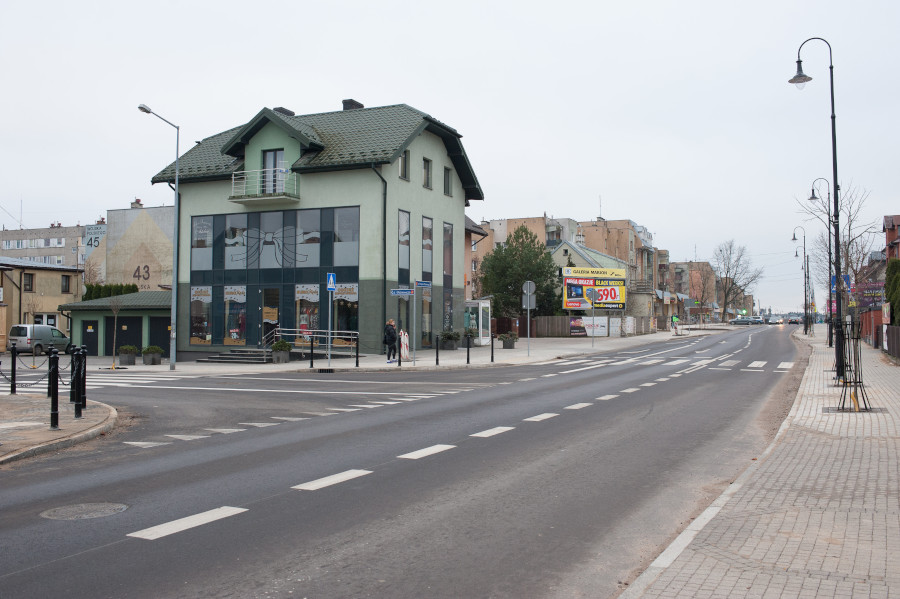 Przebudowana ul. Wojska Polskiego