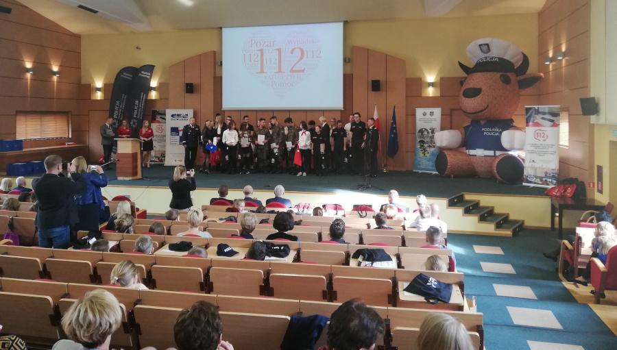 """Podsumowanie VII edycji Wojewódzkiego Konkursu """"112 RATUJE ŻYCIE"""""""
