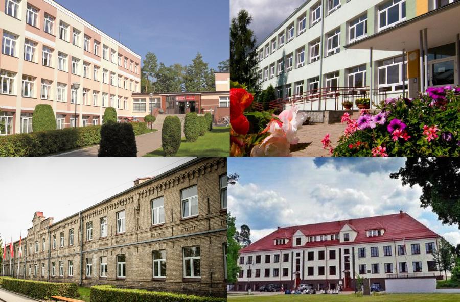 zdjęcie budynków szkół: ACE, ZSO, ZST i II LO