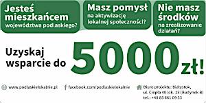 Uzyskaj wsparcie do 5000 zł – zaproszenie na spotkanie informacyjne dla organizacji pozarządowych