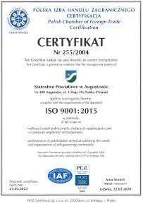 ISO 9001 - otwiera się w nowym oknie