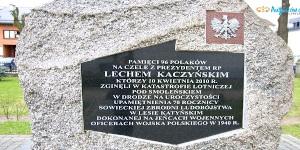 Pamiętamy o ofiarach zbrodni katyńskiej i katastrofy smoleńskiej
