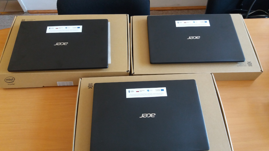 Laptopy przekazane do augustowskich szkół, ZSO