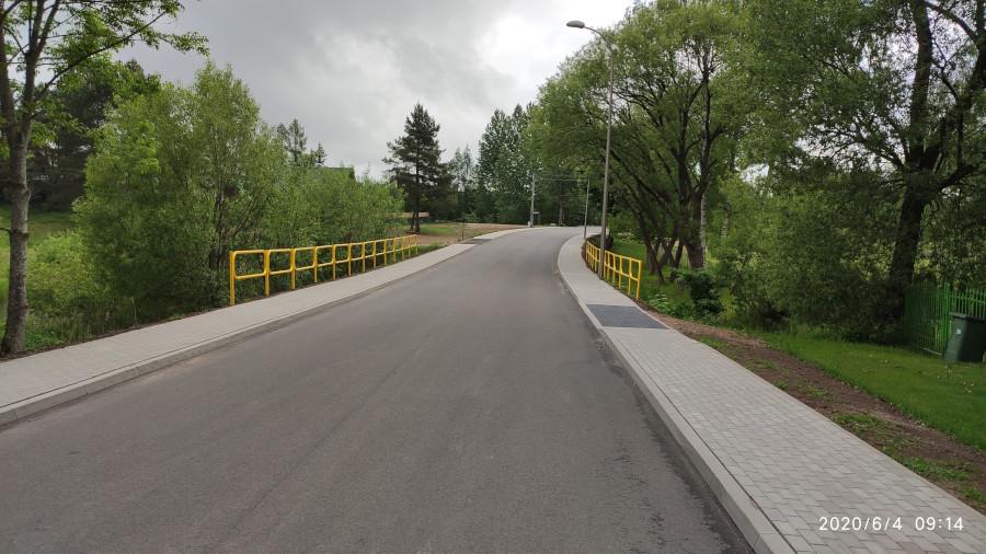 Przebudowa odcinka drogi powiatowej Nr 1199B Nowinka – Monkinie – Bryzgiel w m. Podnowinka