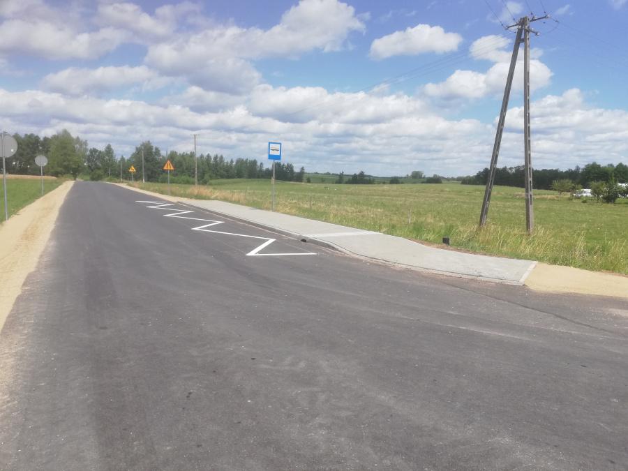 Przebudowa odcina drogi Bargłów Kościelny – Stara Kamionka
