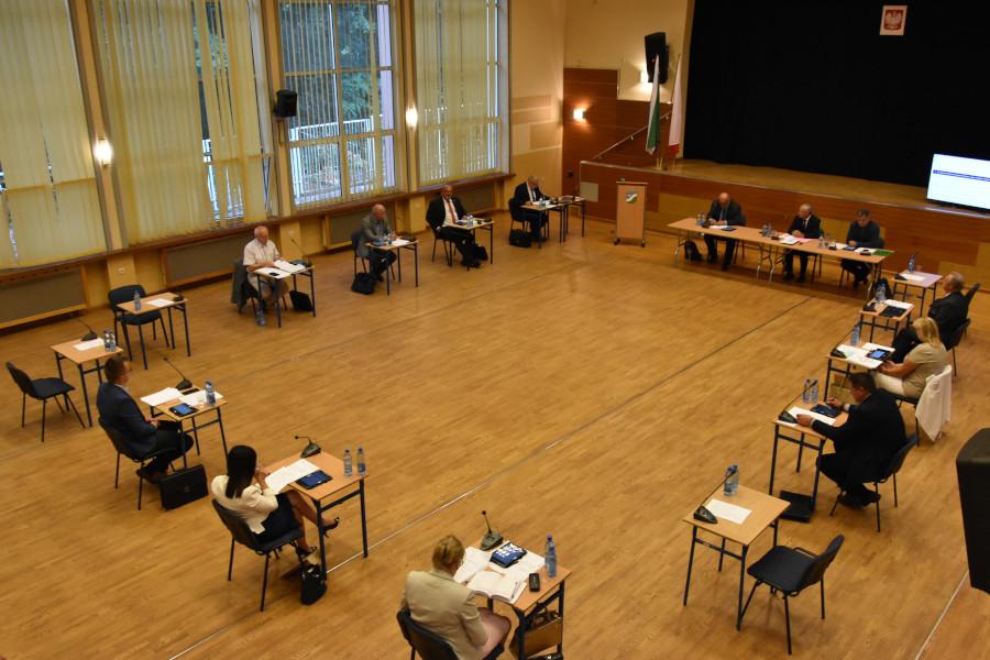 Sesja Rady Powiatu w Augustowie w dniu 26.08.2020 r.