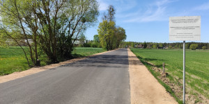 Przebudowano drogę powiatową Wrotki – Jaziewo