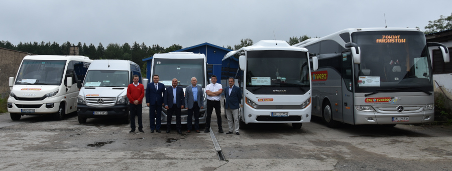 Spotkanie dot. uzyskania dopłaty ze środków Funduszu Rozwoju Przewozów Autobusowych 4 linii komunikacyjnych w Powiecie Augustowskim