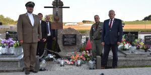 Pomnik poległych we wrześniu 1920 r. na cmentarzu w Rygałówce