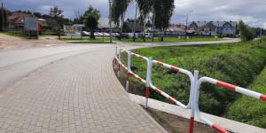 Nowe chodniki przy drogach powiatowych