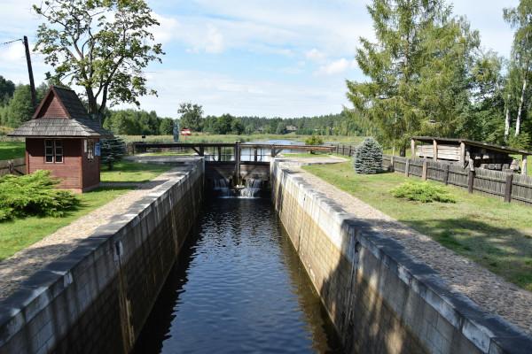 Śluza Kudrynki na Kanale Augustowskim