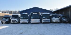 Rozwój przewozów autobusowych w powiecie augustowskim