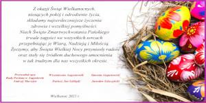 Z okazji Świąt Wielkanocnych…