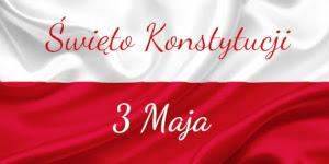 Święto Konstytucji 3 Maja – zaproszenie