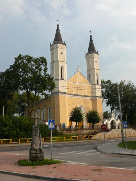Kościół parafialny rzymskokatolicki p.w. Podwyższenia Świętego Krzyża w Bargłowie Kościelnym