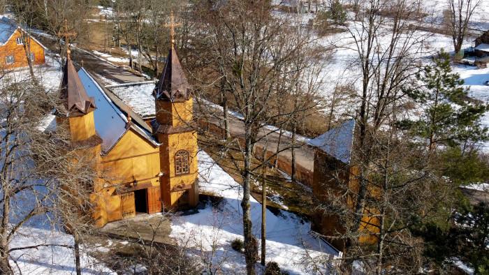 Zespół kościoła parafialnego. p.w. Marii Magdaleny w Mikaszówce