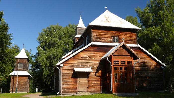 Kościół parafialny rzymskokatolicki p.w. Matki Boskiej Anielskiej - Monkinie