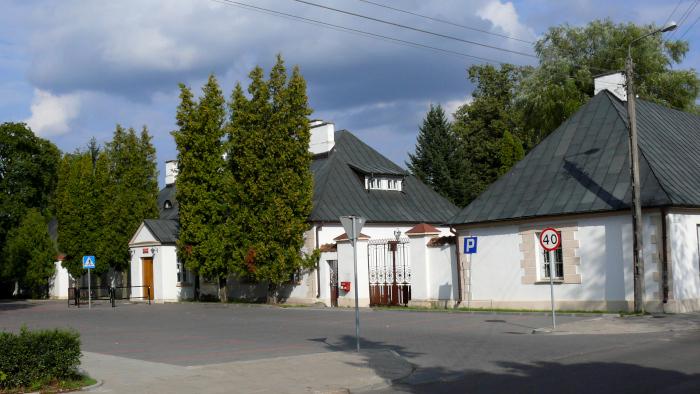 Zespół poczty przy ul. Wybickiego